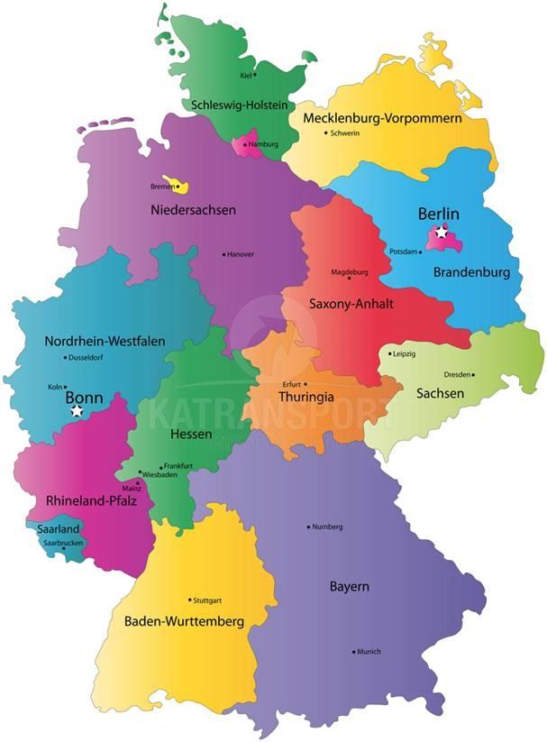 Preprava tovaru Nemecko