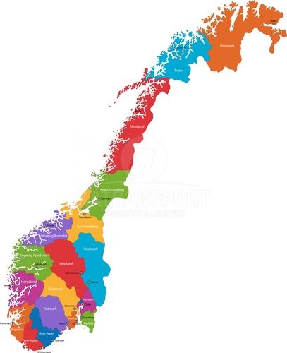 Preprava tovaru Nórsko